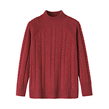 Buy Toast Lambswool Cable Knit Jumper Online at johnlewis.com