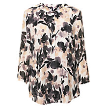 Buy NYDJ Nostalgic Abstract Blouse, Black Multi Online at johnlewis.com