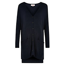 Buy Louche Chauncey Oversized Cardigan, Navy Online at johnlewis.com