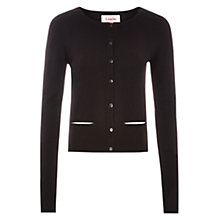 Buy Louche Tacha Stripe Back Cardigan, Black/Ecru Online at johnlewis.com