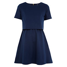 Buy Louche Penelope Dress, Navy Online at johnlewis.com
