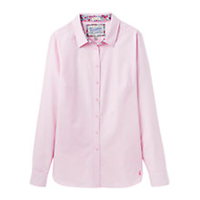 Buy Joules Oxford Semi-Fitted Shirt, Ice Pink Online at johnlewis.com