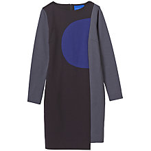 Buy Winser London Isabella Miracle Colour Block Dress, Multi Online at johnlewis.com