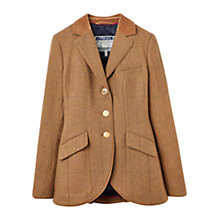 Buy Joules Parade Single-Breasted Tweed Jacket, Cropston Tweed Online at johnlewis.com