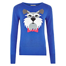 Buy Louche Schnauzer Jumper, Blue Online at johnlewis.com