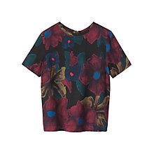 Buy Toast Floral Print Top, Multi Online at johnlewis.com