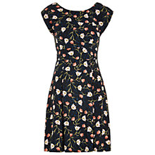 Buy Louche Simica Floral Vine Print Dress, Navy Online at johnlewis.com