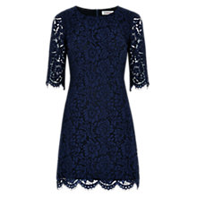Buy Louche Gloster Lace Mini Dress, Navy Online at johnlewis.com