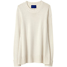Buy Winser London Wool Luxe Flared Tunic Jumper, Ivory Online at johnlewis.com