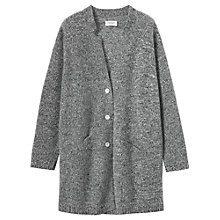Buy Toast Merino Wool Cardigan, Black/Off White Online at johnlewis.com