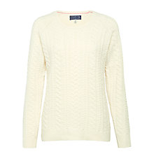Buy Joules Nell Cable Knit Jumper Online at johnlewis.com