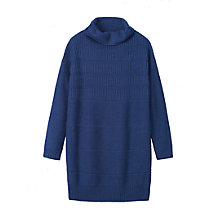 Buy Toast Rib Texture Merino Wool Tunic, Mazzerine Online at johnlewis.com