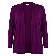 Buy Windsmoor Open Neck Cardigan, Fuchsia Online at johnlewis.com