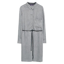 Buy Violeta by Mango Cord Shirt Dress, Medium Grey Online at johnlewis.com