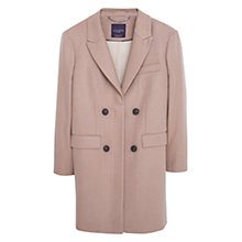 Buy Violeta by Mango Cashmere Blend Coat, Medium Brown Online at johnlewis.com