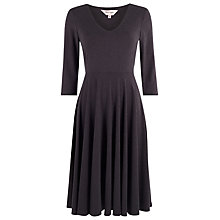Buy Phase Eight Abby Full Skirt Dress, Grey Online at johnlewis.com