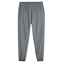 Buy Violeta by Mango Flecked Baggy Trousers, Medium Grey Online at johnlewis.com