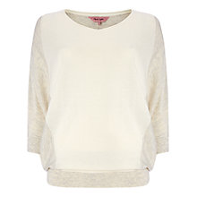 Buy Phase Eight Camila Colour Block Jumper, Winter White Online at johnlewis.com