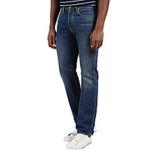 Buy Levi's 501 Original Fit State Jeans, Mid Wash Online at johnlewis.com