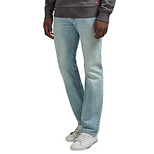 Buy Levi's 501 Original Straight Jeans, Spring Light Online at johnlewis.com