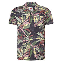 Buy Levi's Short Sleeve Hawaiian Shirt, Dark Phantom Online at johnlewis.com