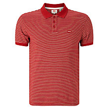 Buy Levi's Housemark Fine Stripe Polo Shirt Online at johnlewis.com