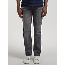 Buy Levi's 504 Regular Straight Fit Jeans, Black Talon Online at johnlewis.com