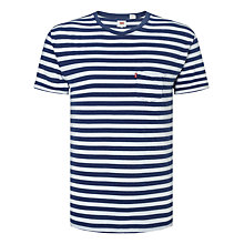 Buy Levi's Sunset Stripe Pocket T-Shirt Online at johnlewis.com