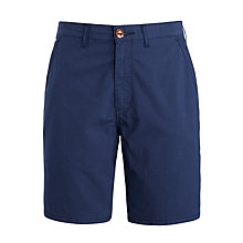 Buy Levi's Straight Chino Shorts, Dress Blue Online at johnlewis.com