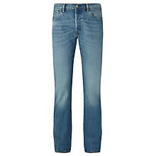 Buy Levi's 501 Original Fit Strong Jeans, Iron Mountain Online at johnlewis.com