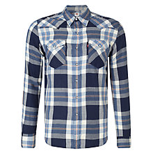 Buy Levi's Barstow Western Plaid Shirt Online at johnlewis.com