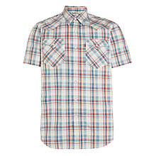 Buy Levi's Western Check Shirt, Multi Online at johnlewis.com