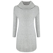 Buy Phase Eight Annalise Swing Knit Jumper, Grey Online at johnlewis.com