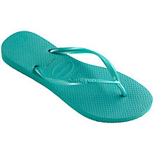Buy Havaianas Children's Slim Metallic Flip Flops Online at johnlewis.com