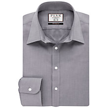 Buy Thomas Pink Padua Texture Slim Fit Shirt, Charcoal Online at johnlewis.com