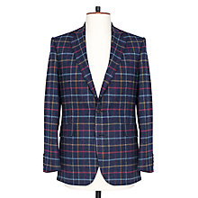 Buy Thomas Pink Gibbens Windowpane Check Blazer, Navy/Multi Online at johnlewis.com