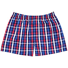 Buy Thomas Pink Jeffers Check Boxer Shorts Online at johnlewis.com