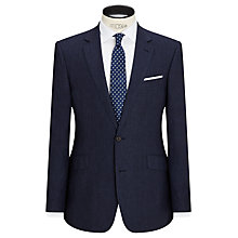 Buy John Lewis Linen Regular Fit Suit Jacket, Indigo Online at johnlewis.com