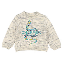 Buy No Added Sugar Baby Snake Charmer Sweatshirt, Grey Online at johnlewis.com