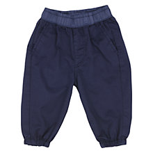 Buy No Added Sugar Baby Trousers, Navy Online at johnlewis.com