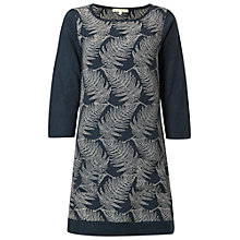 Buy White Stuff Linear Leaf Tunic Dress, Blue Online at johnlewis.com