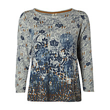 Buy White Stuff Homespun Print Jumper, Multi Online at johnlewis.com