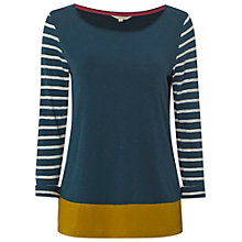 Buy White Stuff Jitterbug Stripe Jersey, Teal Online at johnlewis.com