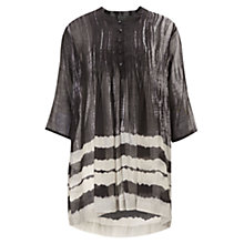Buy East Shibori Tunic Dress, Black Online at johnlewis.com