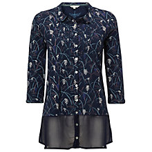 Buy White Stuff Mystery Jersey Shirt, Blue Online at johnlewis.com