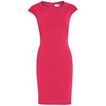 Buy Belle by Badgley Mischka Jacquard Sheath Dress, Fuchsia Online at johnlewis.com
