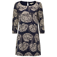 Buy White Stuff Lotto Jersey Tunic, Japanese Grey Online at johnlewis.com