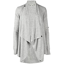 Buy Ted Baker Jenee Magnetic Fastening Wrap Cardigan, Grey Marl Online at johnlewis.com