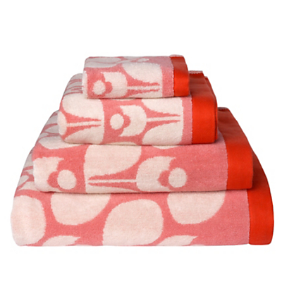 Orla Kiely Wallflower Towels