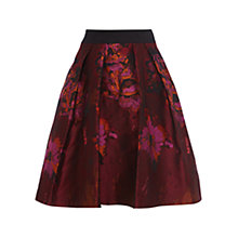 Buy Coast Petite Rita Jacquard Skirt, Multi Online at johnlewis.com
